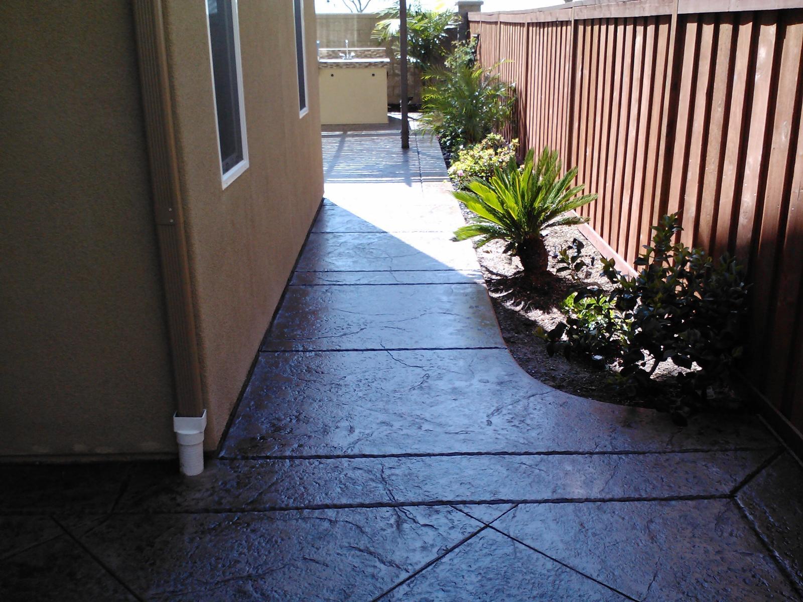 Sidewalk Concrete Contractors Chula Vista Sidewalk Contractor
