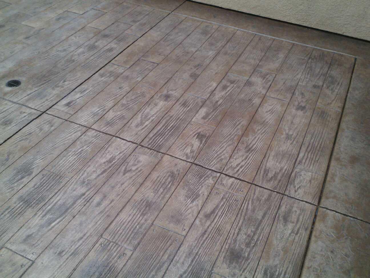 Stamped Concrete Kitchen Floor Decorative Concrete Chula Vista Custom Concrete Chula Vista